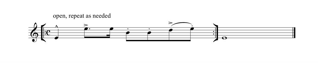 Repeating Pattern 1 Saxworkshop Timing