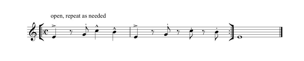 Repeating Pattern 2 Saxworkshop Timing