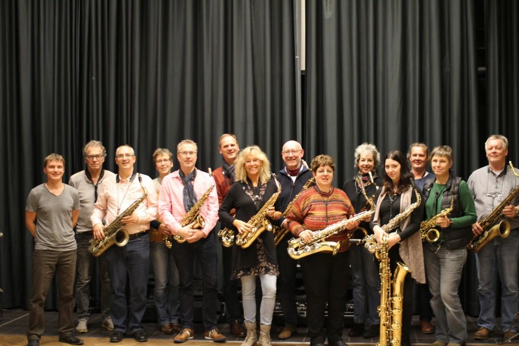 Teilnehmer Saxworkshop Blues Improvisation