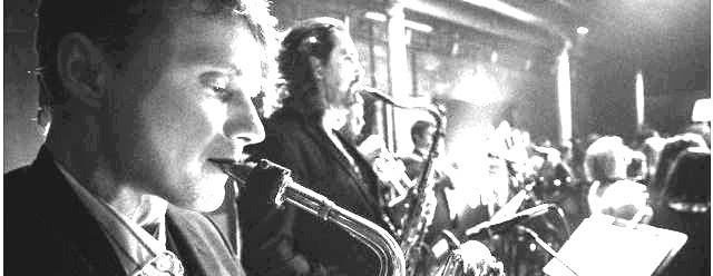 Saxophon-Ensemble live